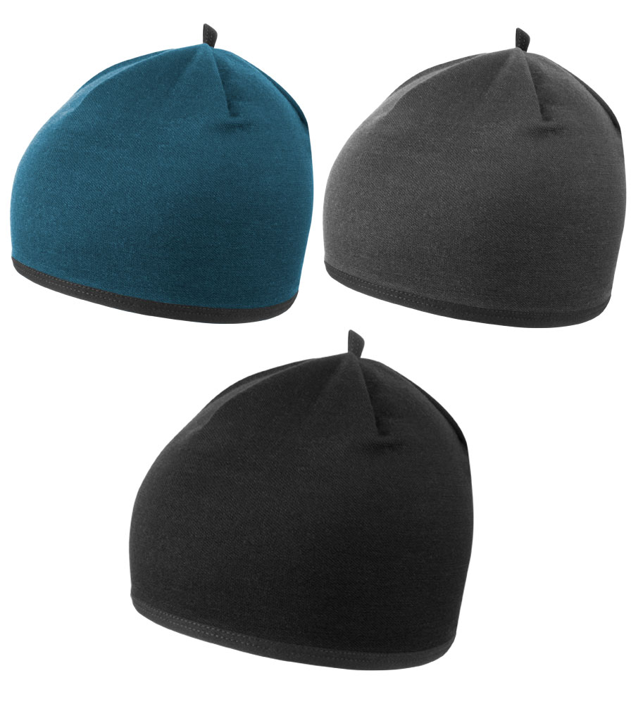 Aero Tech Merino Wool Beanie - Insulated Wool Skull Cap