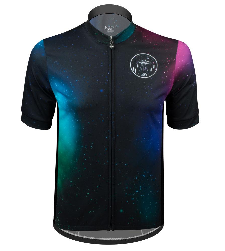 Aero Tech Sprint Jersey - Galaxy - Space Themed Bike Jersey