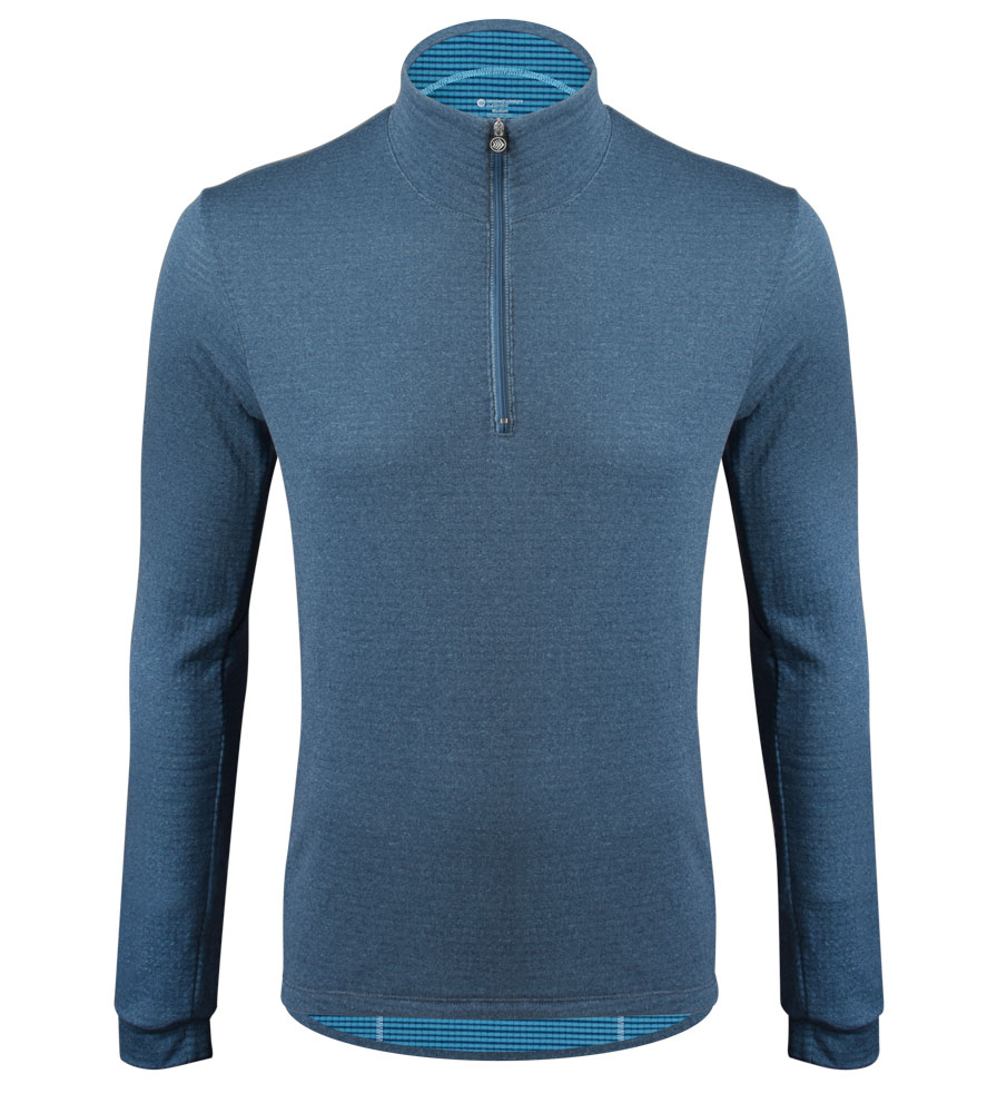Aero Tech Men's Hemisphere Power Grid USA Thermal Long Sleeve Jersey