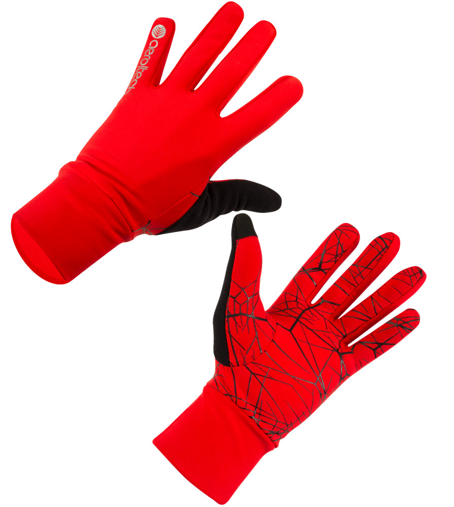 Aero Tech Spider Grip Lightweight High-Visibility Full Finger Liner Gloves