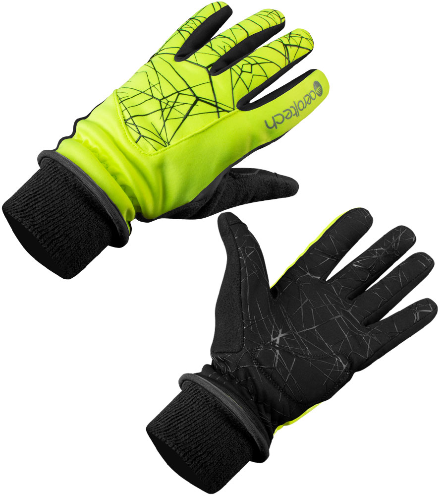 Aero Tech Spider Grip Heavy-Weight Full Finger Cycling Glove