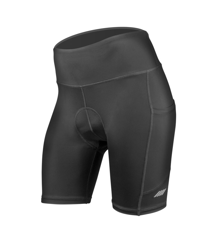 Do the Aero Tech Women's 3D Gel Padded Cycling Shorts - have a silicone leg gripper?