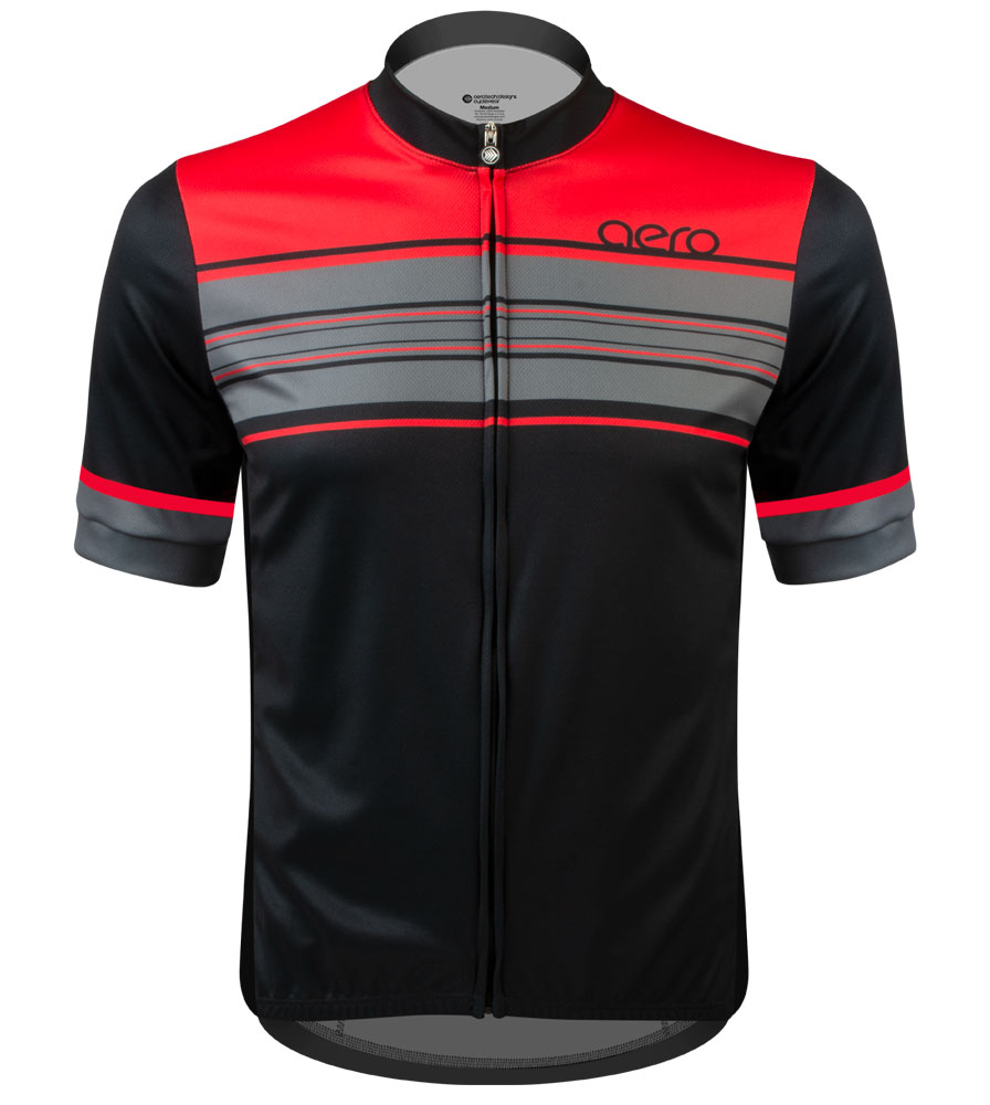 Aero Tech Sprint Jersey - Momentum - Extended Size Range Cycling Jersey Questions & Answers