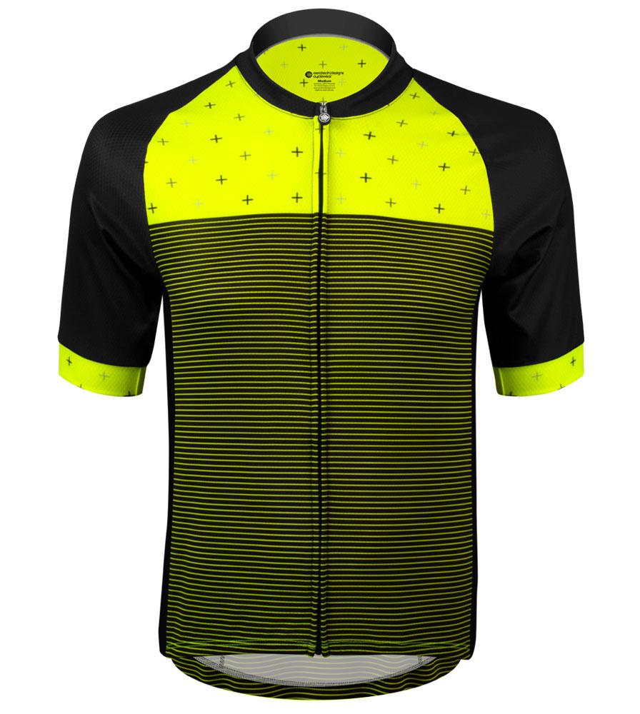 Aero Tech Men's Peloton Jersey - Reaction - High Visibility Cycling Jersey Questions & Answers