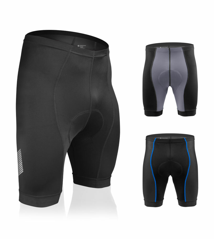 How high should the waistband on these ride up the midsection to ensure proper positioning of the chamois?
