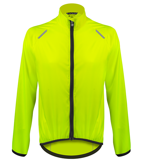 Aero Tech TALL Windbreaker Jacket in Hi-Visibility Safety Yellow