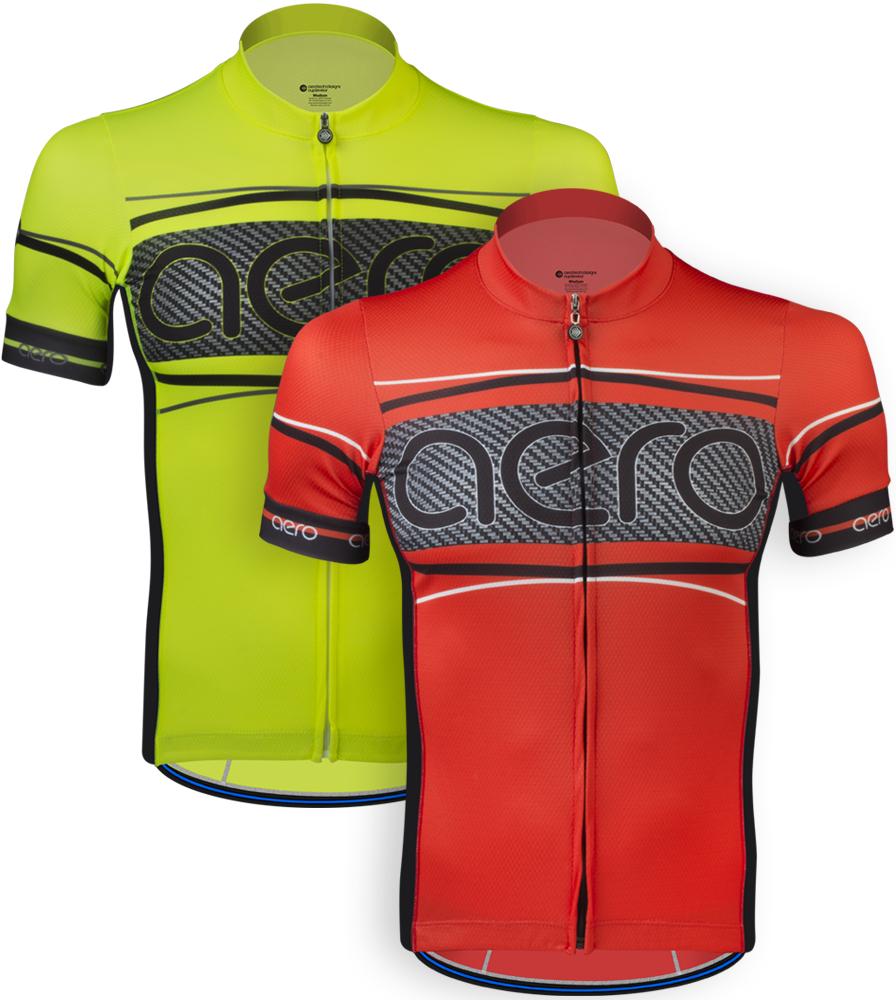 Aero Tech Men's Premiere Jersey - Advanced Carbon - Bike Racing Elite Jersey Questions & Answers
