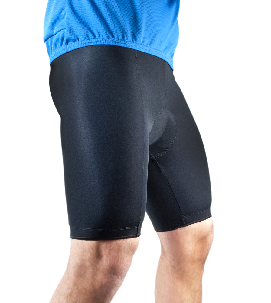 Aero Tech Men's Basic PADDED Cycling Shorts - SMALL