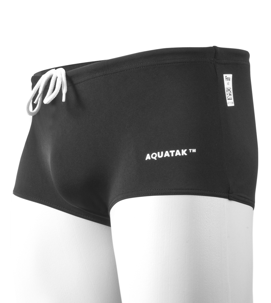 Does the AquaTak Men's FINA Racing Swimming Trunks not have a seam in the middle running through the groin area?
