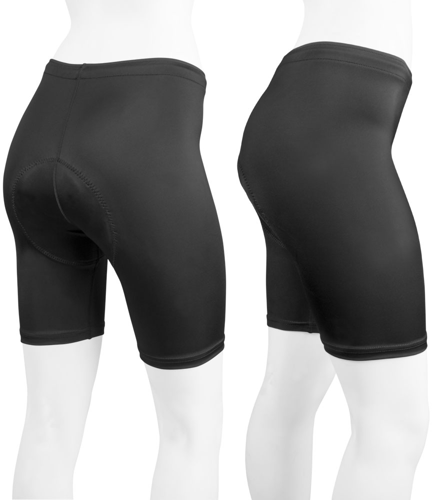 Aero Tech PLUS SIZE Women's USA Classic PADDED Bike Shorts - Made in USA