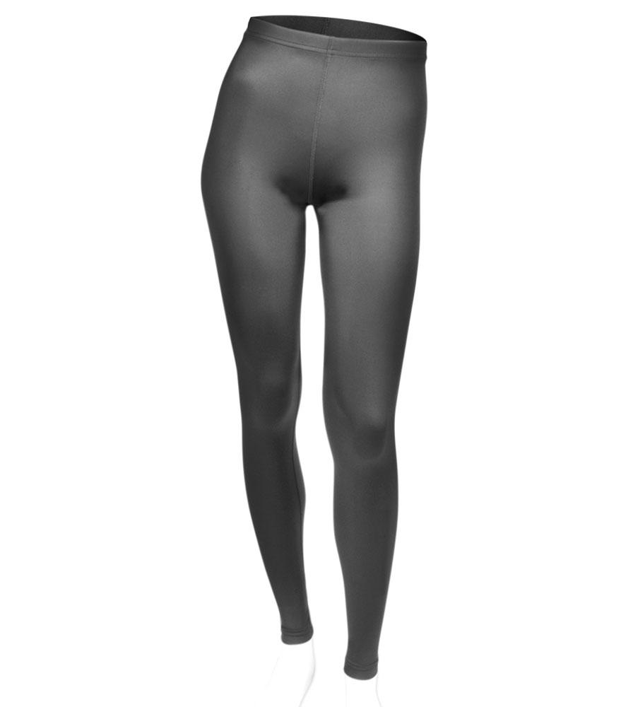 Aero Tech PLUS Women's USA Classic Black Spandex UNPADDED Workout Tights