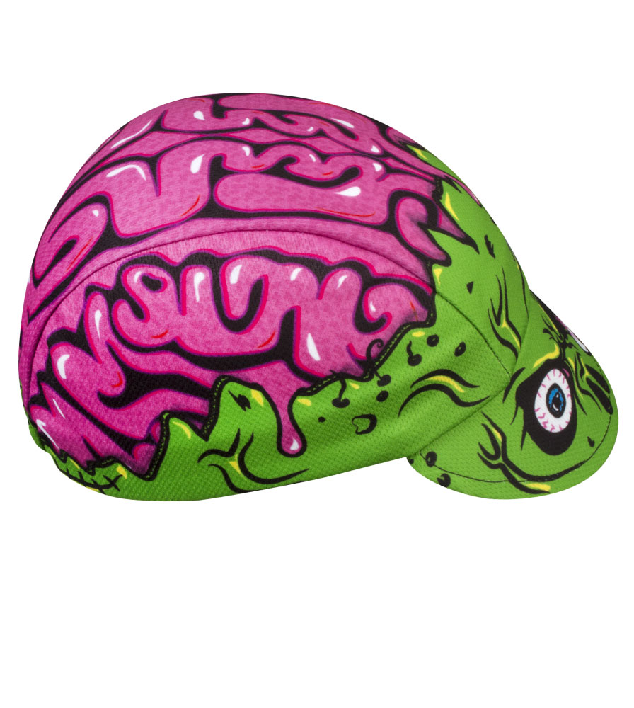 Aero Tech Rush Cycling Caps - Zombie Brains - Made in USA