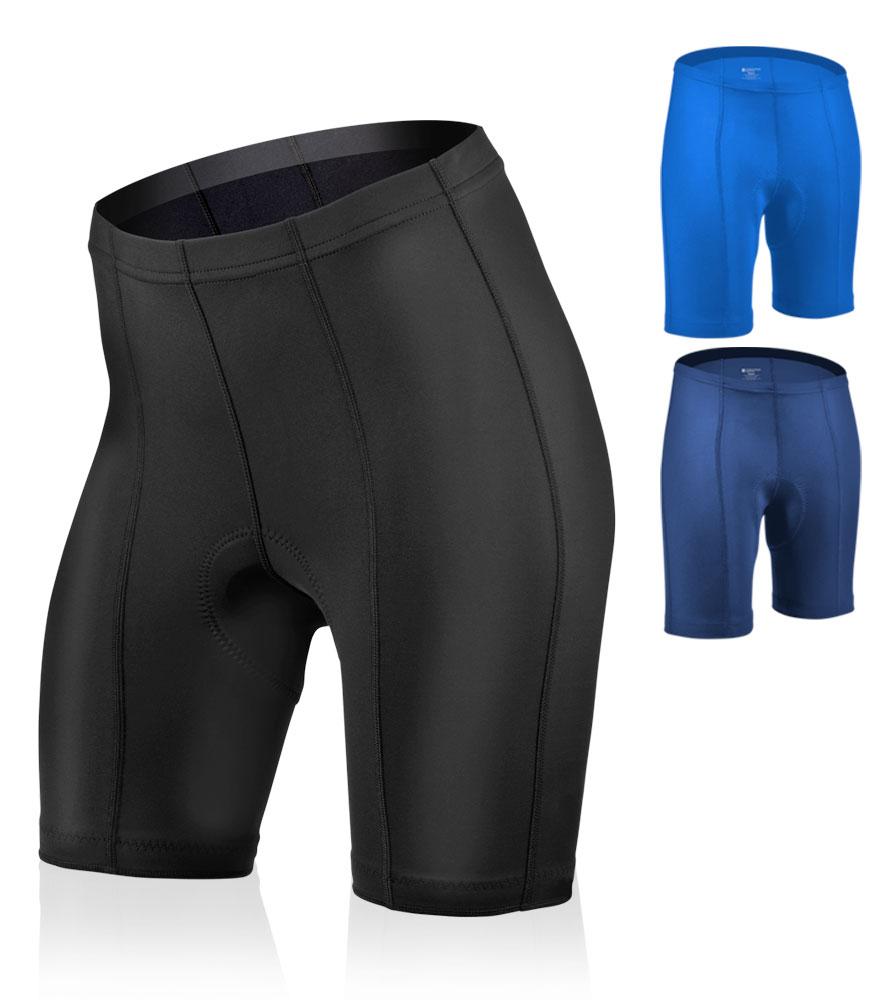 Aero Tech PLUS SIZE Women's Cycling Pro Bike Shorts - Thin, Anti Chafe Pad Questions & Answers