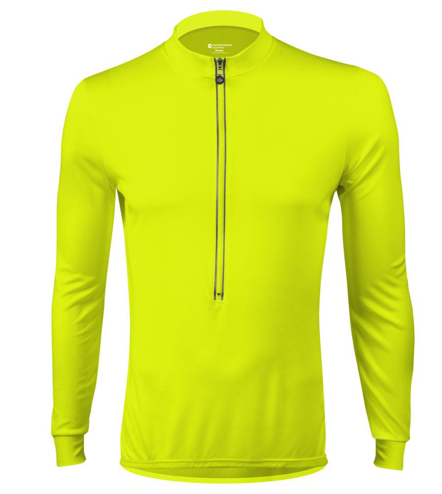 Aero Tech TALL Long Sleeve Hi-Viz Cycling Jersey Questions & Answers