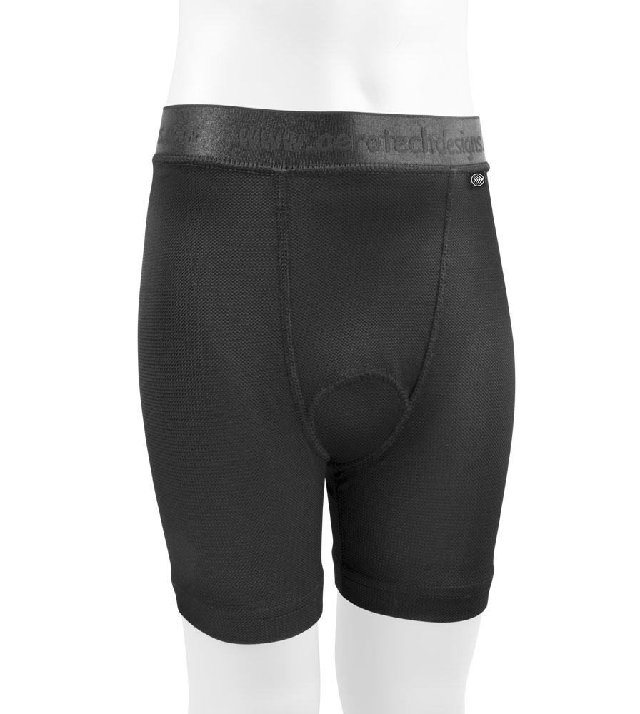 Aero Tech Youth Comfortable PADDED Liner Shorts - Underwear Questions & Answers