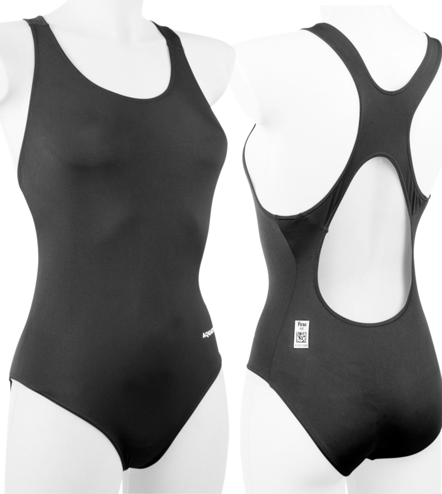 AquaTak Women's Tank One-Piece Racing Swimsuit  FINA Swimwear - 2 Colors