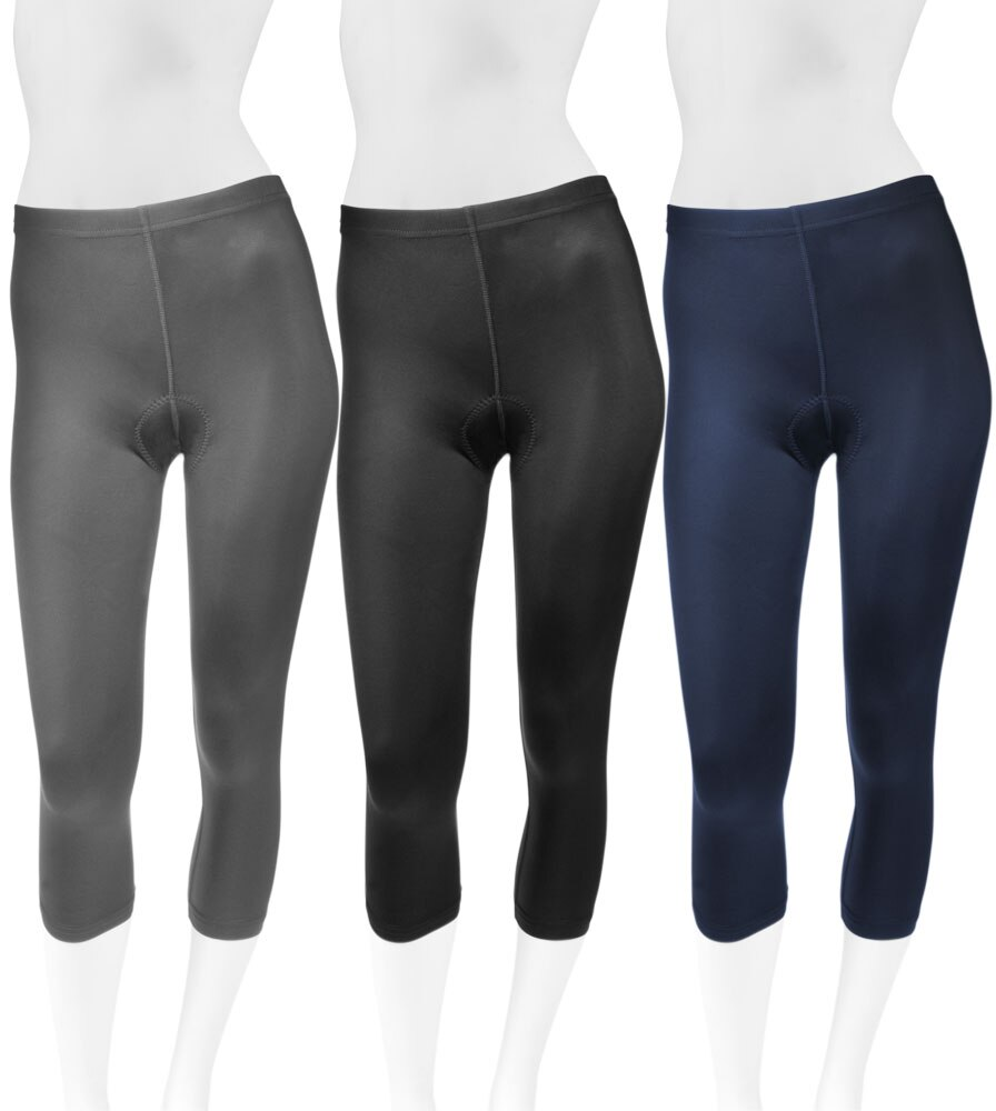When do you expect to have the plus size padded capris back in stock?  I have them in 5x but have lost weight.
