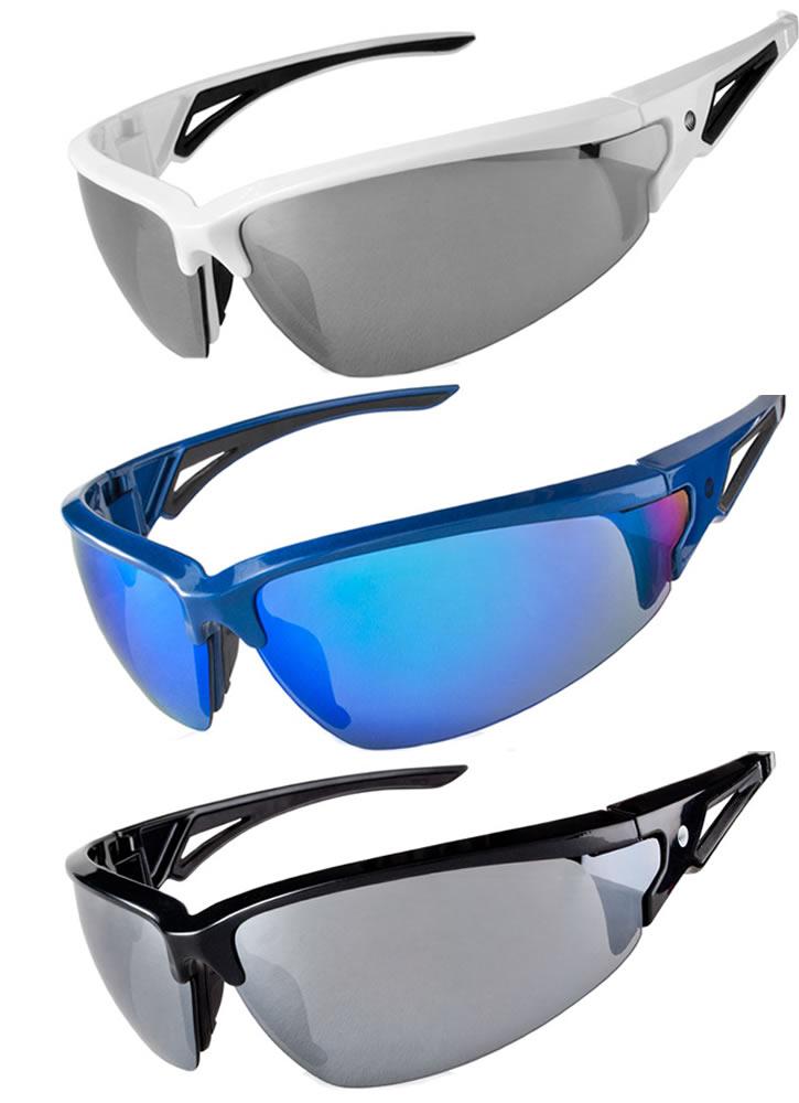 Aero Tech Triumph Wrap Cycling Sunglasses w UV Protection