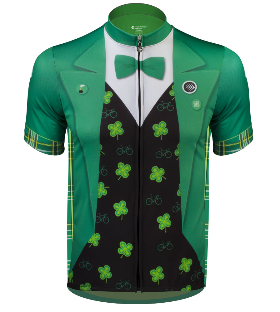Aero Tech Sprint Jersey - Lucky Leprechaun - The Official St. Patrick's Day Cycling Jersey