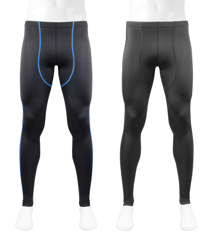 Do the unpadded Triumph Tights also have ankle zippers?