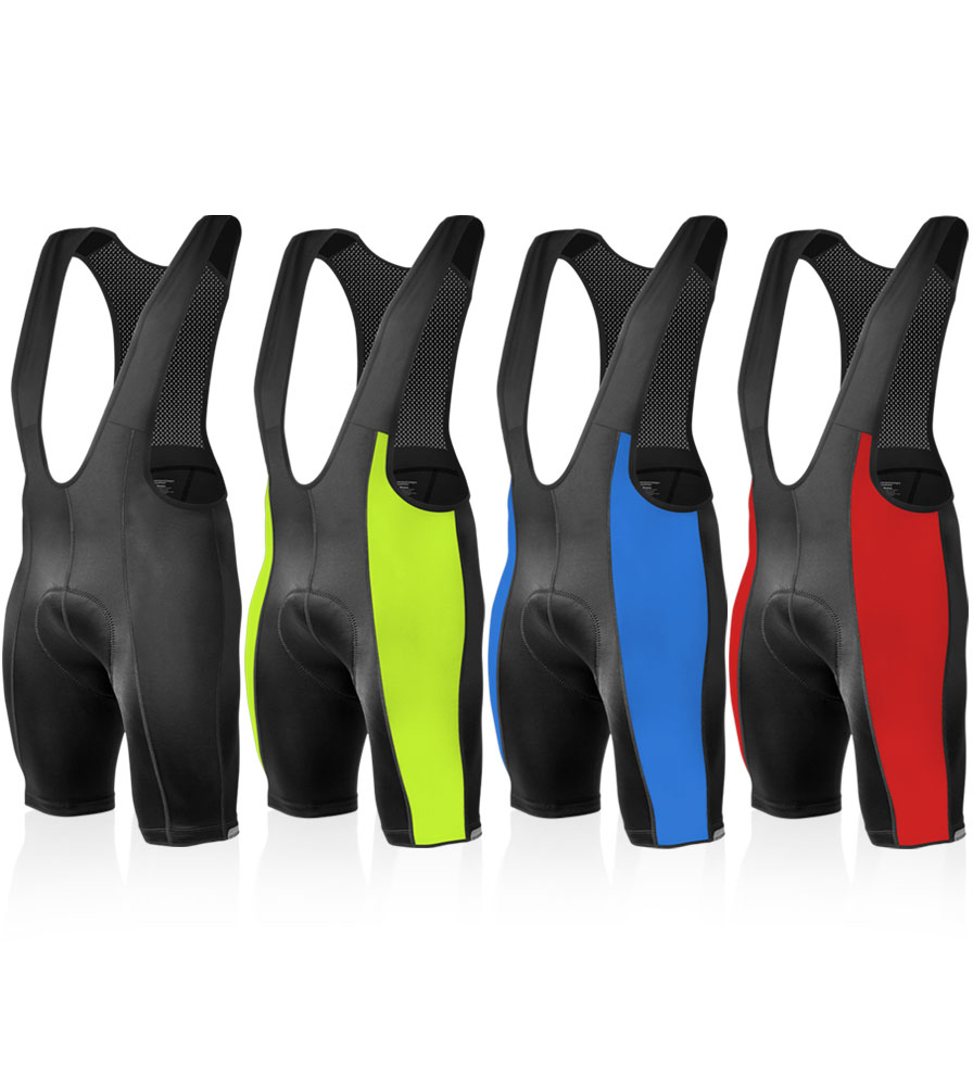 Aero Tech Men's Top Shelf Bib Shorts - Cycling Bibs for Men - Made in USA