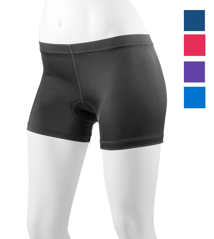 Aero Tech Women's Spankie Low Rise Spandex Short UNPADDED