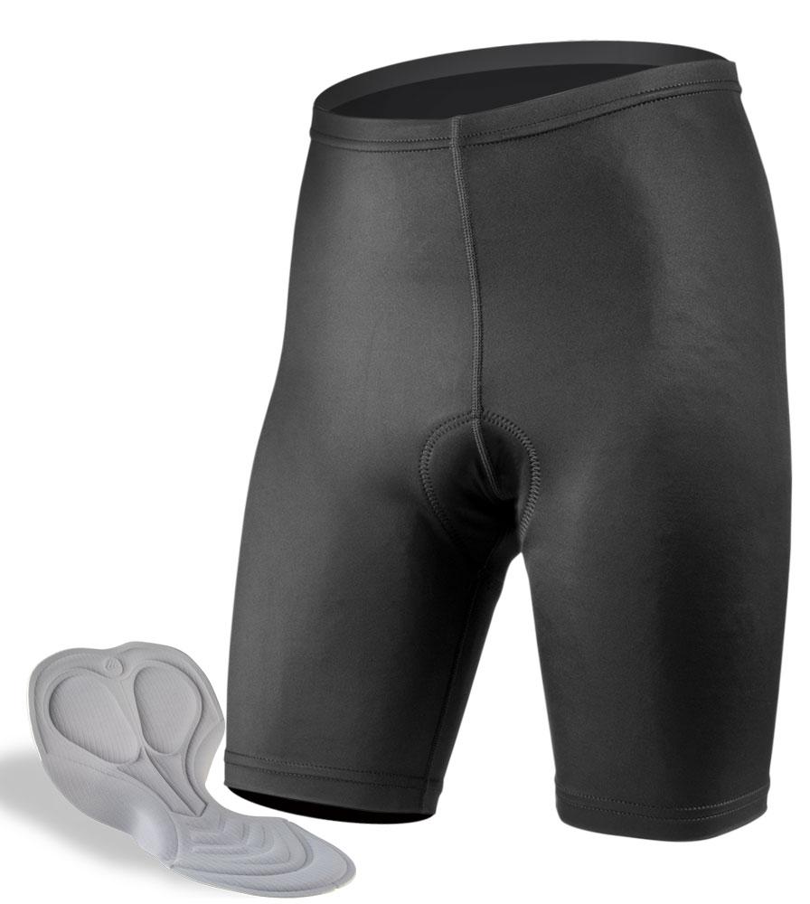 Aero Tech Men's USA Classic PADDED Bike Shorts - High Quality Bike Shorts