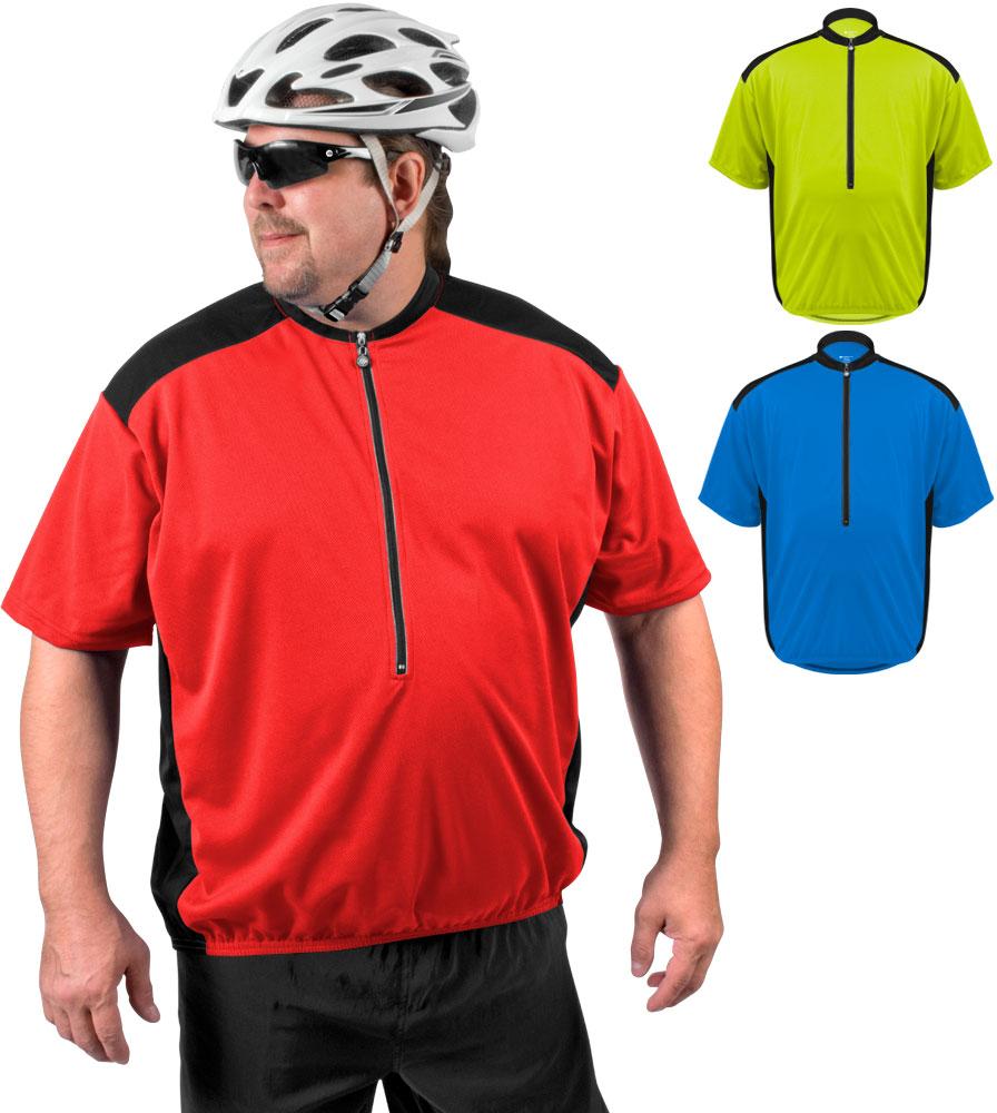 Aero Tech BIG Men's AeroDri Colossal Loose Fit Cycling Jersey Questions & Answers