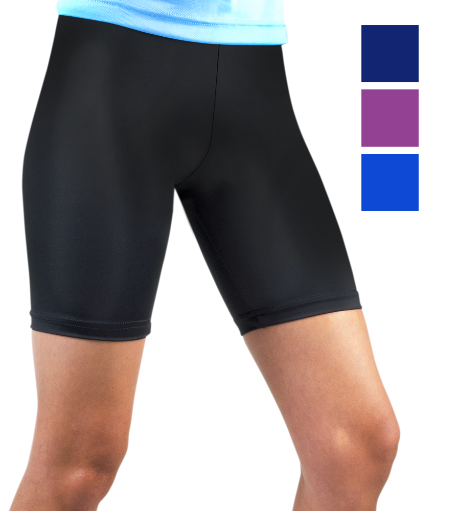 Aero Tech Women's USA Classic UNPADDED Bike Short - Compression Workout Shorts