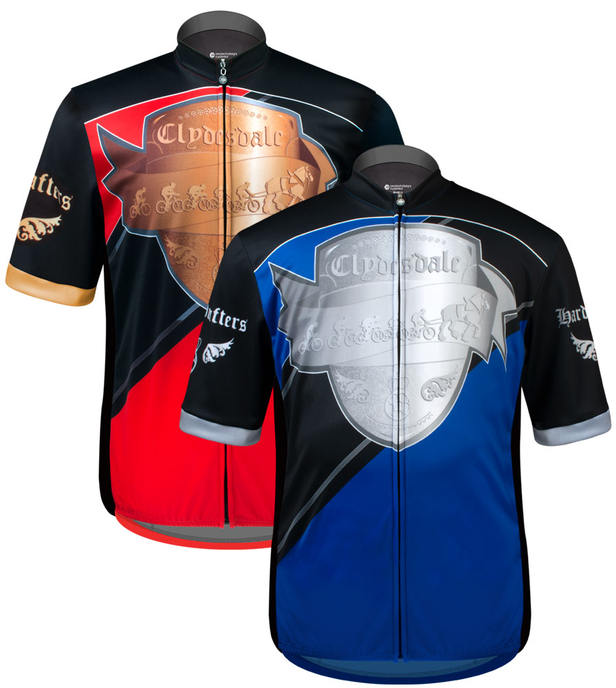 Aero Tech BIG Men's Sprint Jersey - Clydesdale Hardy Drafter - Cycling Jersey