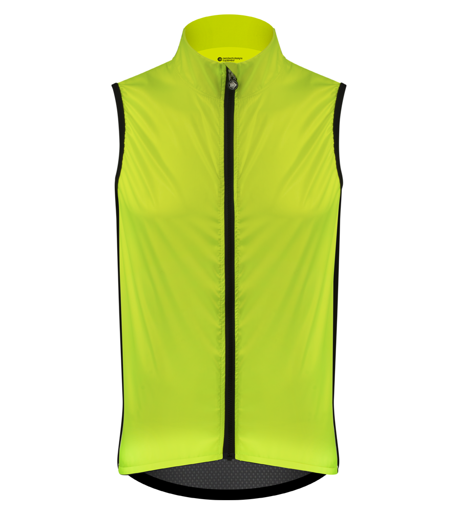 Aero Tech Windbreaker Packable Vest High Visibility Gilet Made in USA Questions & Answers