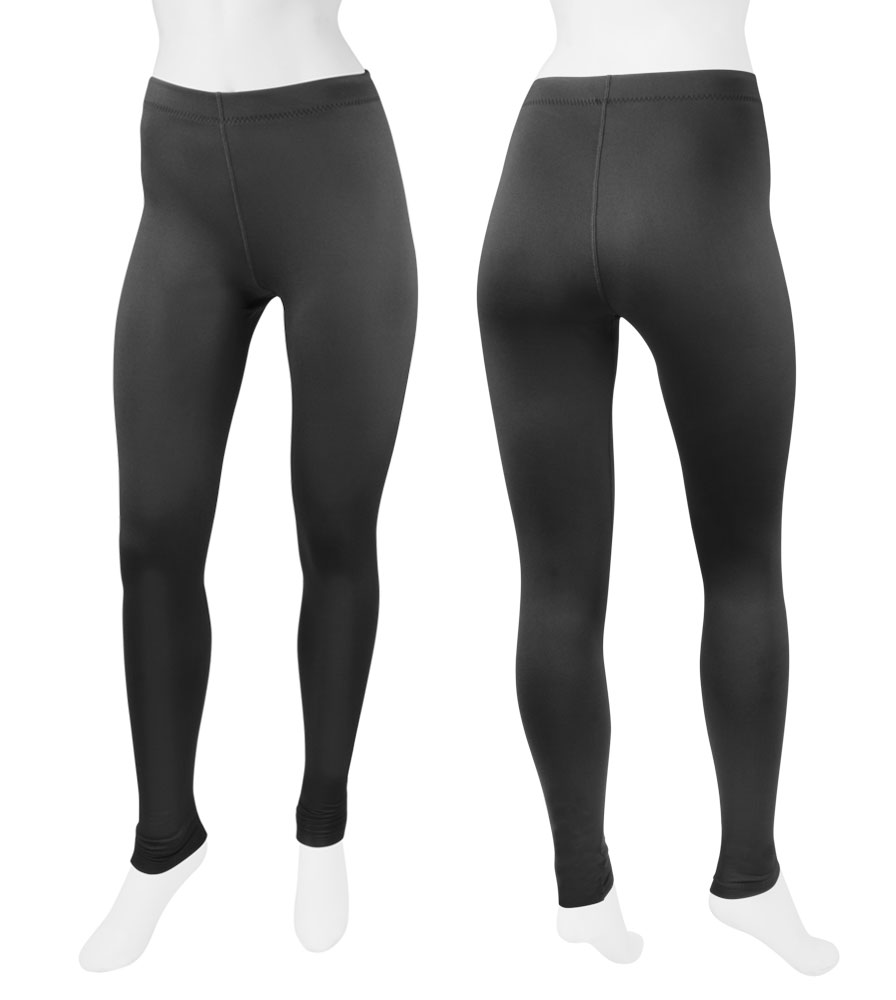 Aero Tech Women's USA Classic Black Spandex UNPADDED Workout Tights