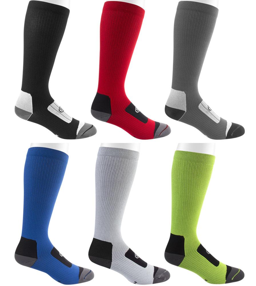 "Do the 12"" compression socks use GRADUATED compression?"