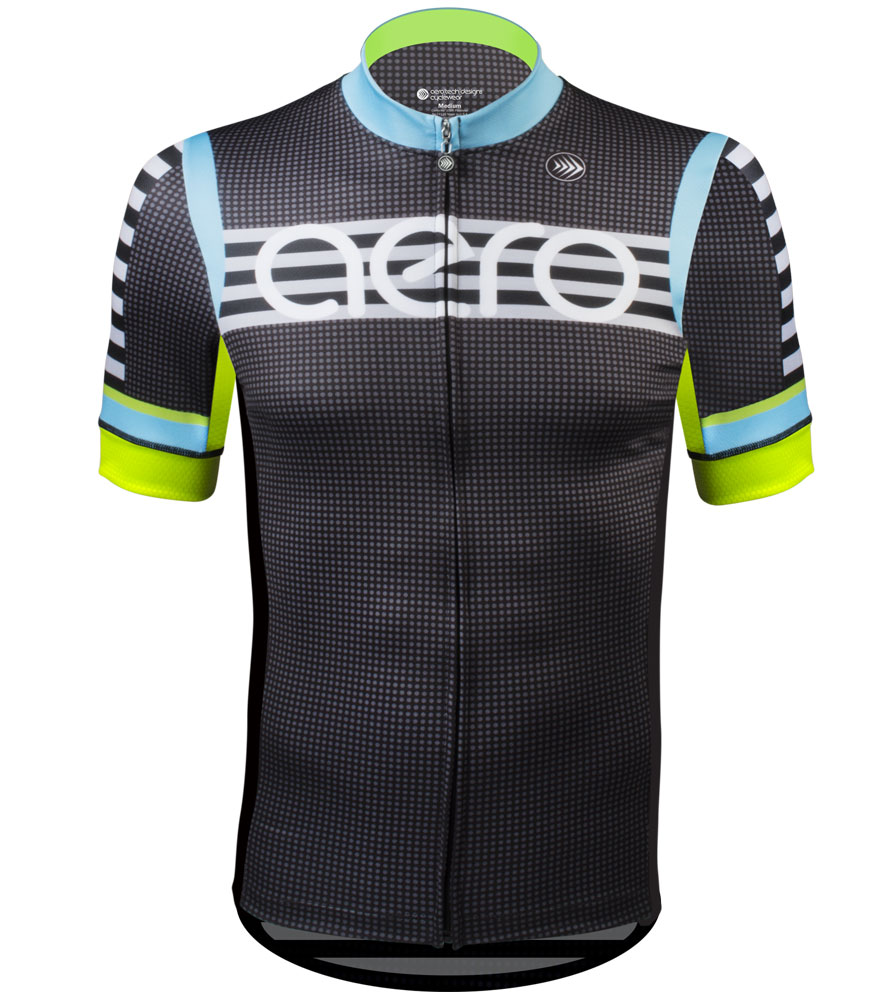 Aero Tech Men's Premiere Jersey - Modern - Racing Bike for Elite Riders