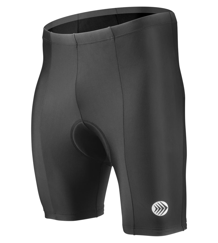 Looking for basic black, UNPADDED, road cycle shorts with modest price tag. Size, Men's M. Got  anything?