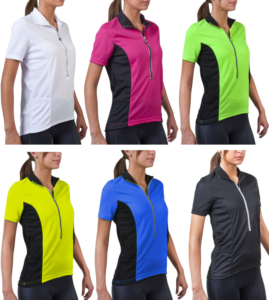 Aero Tech Women's Specific Cycling Jersey: does this jersey have a loose bitting bottom (ie: NO elastic bottom)?