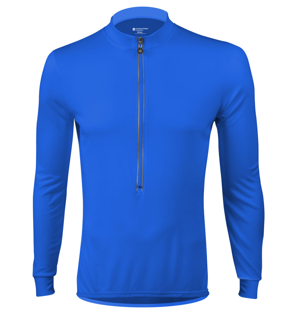Does this jersey have any thermal qualities or is it the long sleeve version of the regular (short sleeve) jersey?