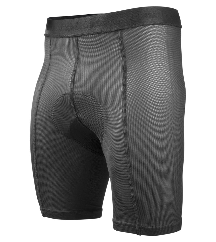 "What is your best option for men's shorts or liners that accommodate wide sit bones? My waist size is 35-36""Thanks!"