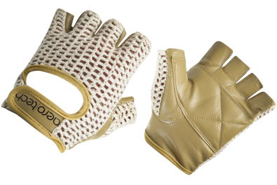 Aero Tech Youth Leather and Cotton Crochet Cycling Gloves Questions & Answers