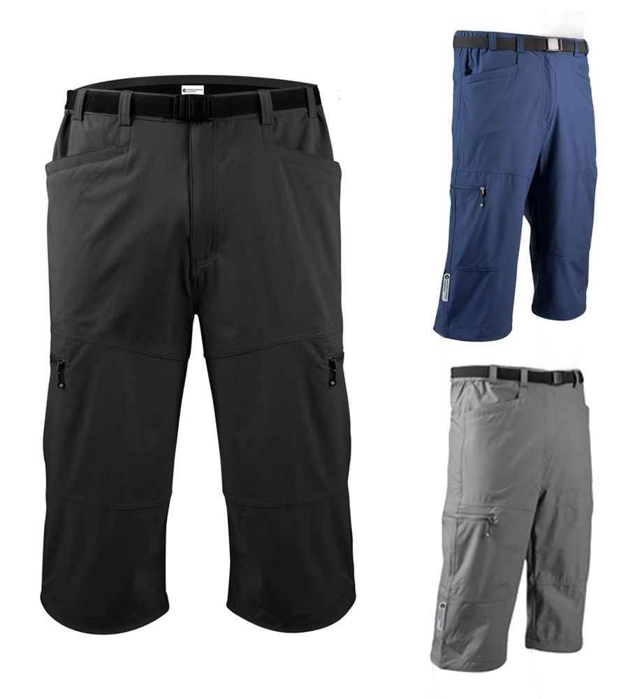 Aero Tech Men's Urban Pedal Pushers - Stretch Woven Knickers Questions & Answers