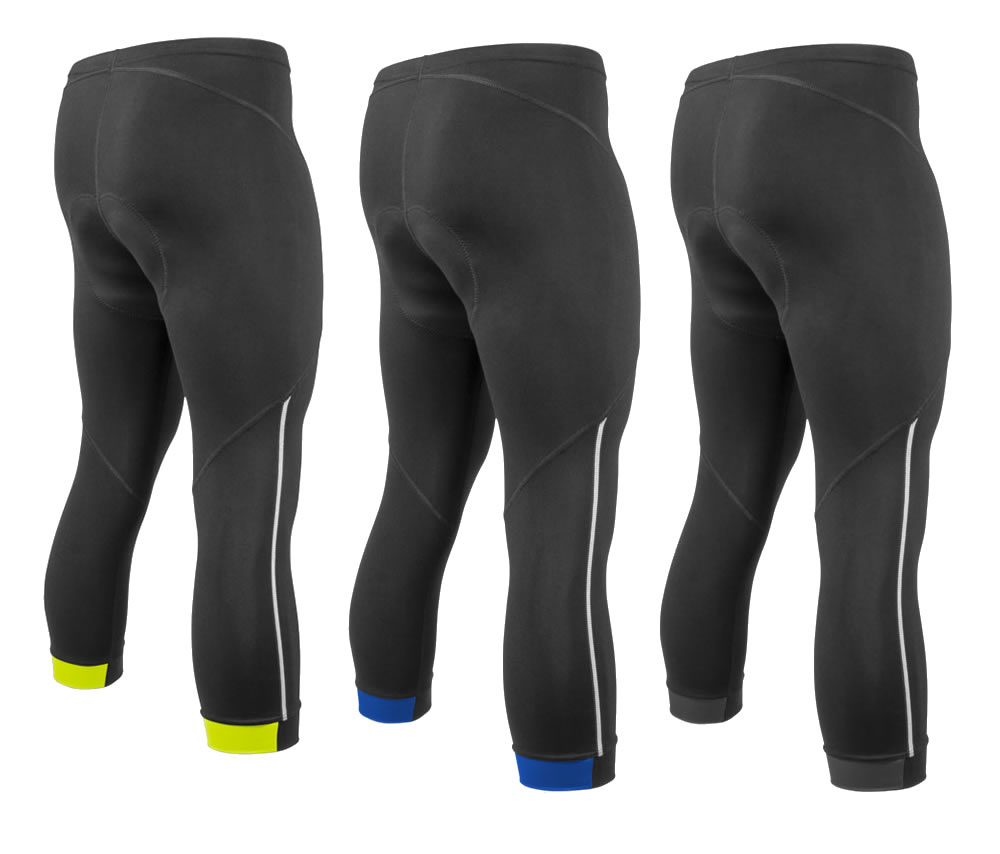 Aero Tech Men's Victor Supplex Fleece PADDED Cycling Knickers