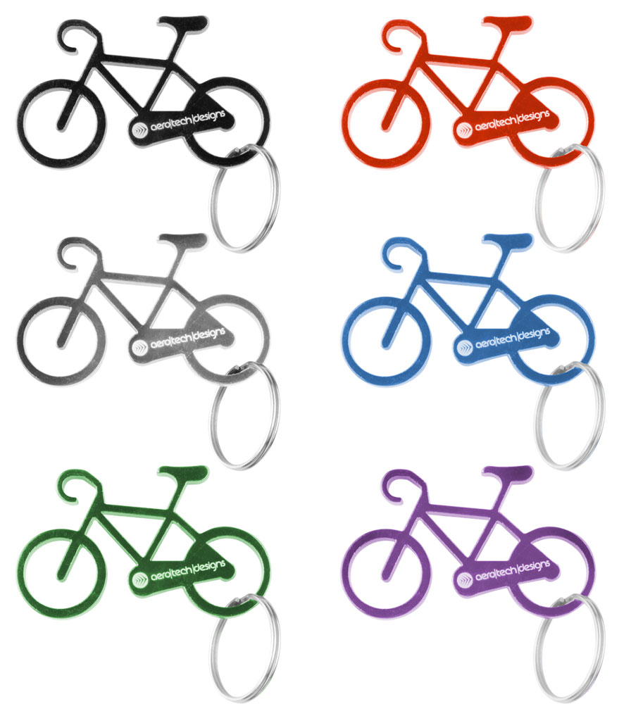 Bicycle Key Chain - Multiple Colors Questions & Answers