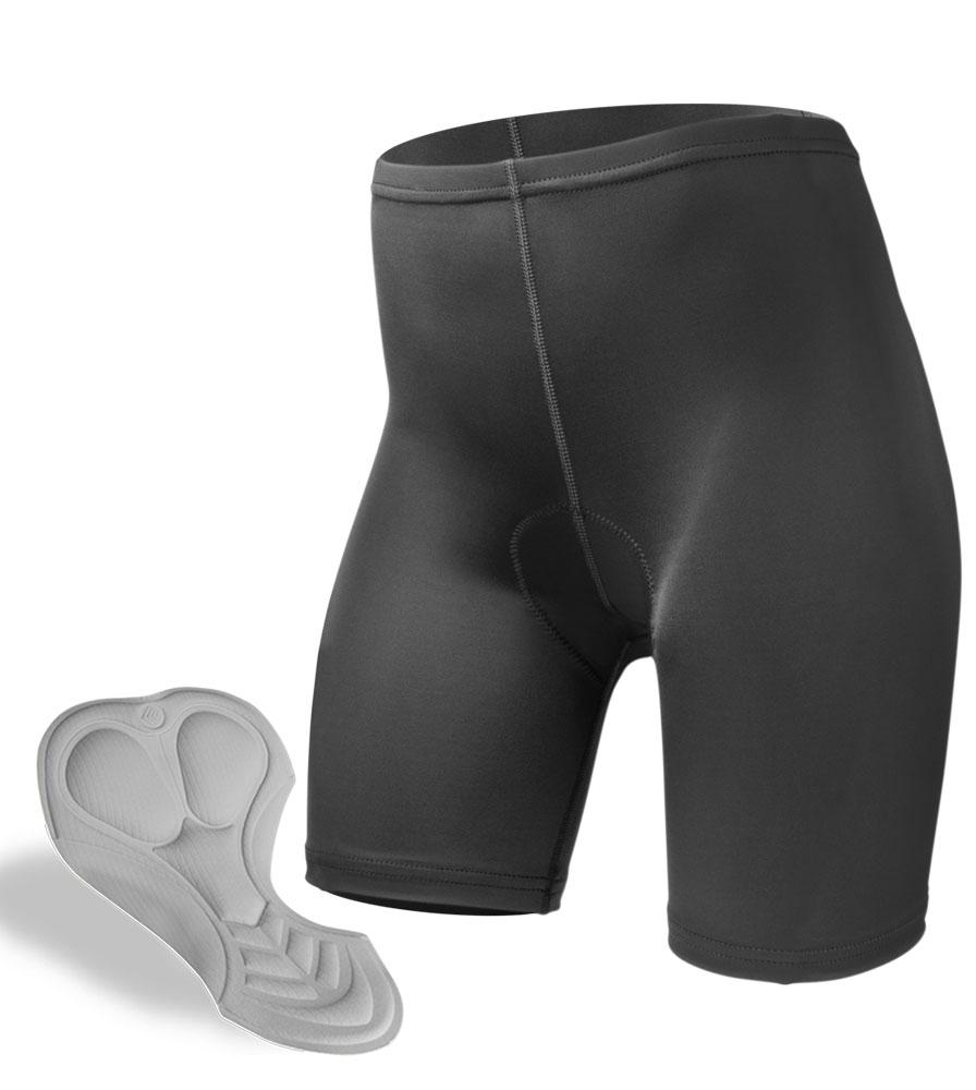 Aero Tech Women's USA Classic PADDED Bike Shorts - High Quality Cycle Shorts for Women