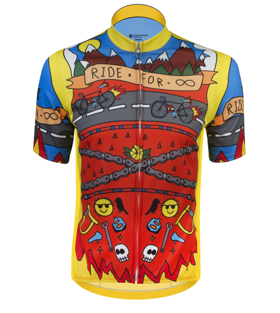 Aero Tech Sprint Jersey - Ride for Infinity - Printed Cycling Jersey Questions & Answers