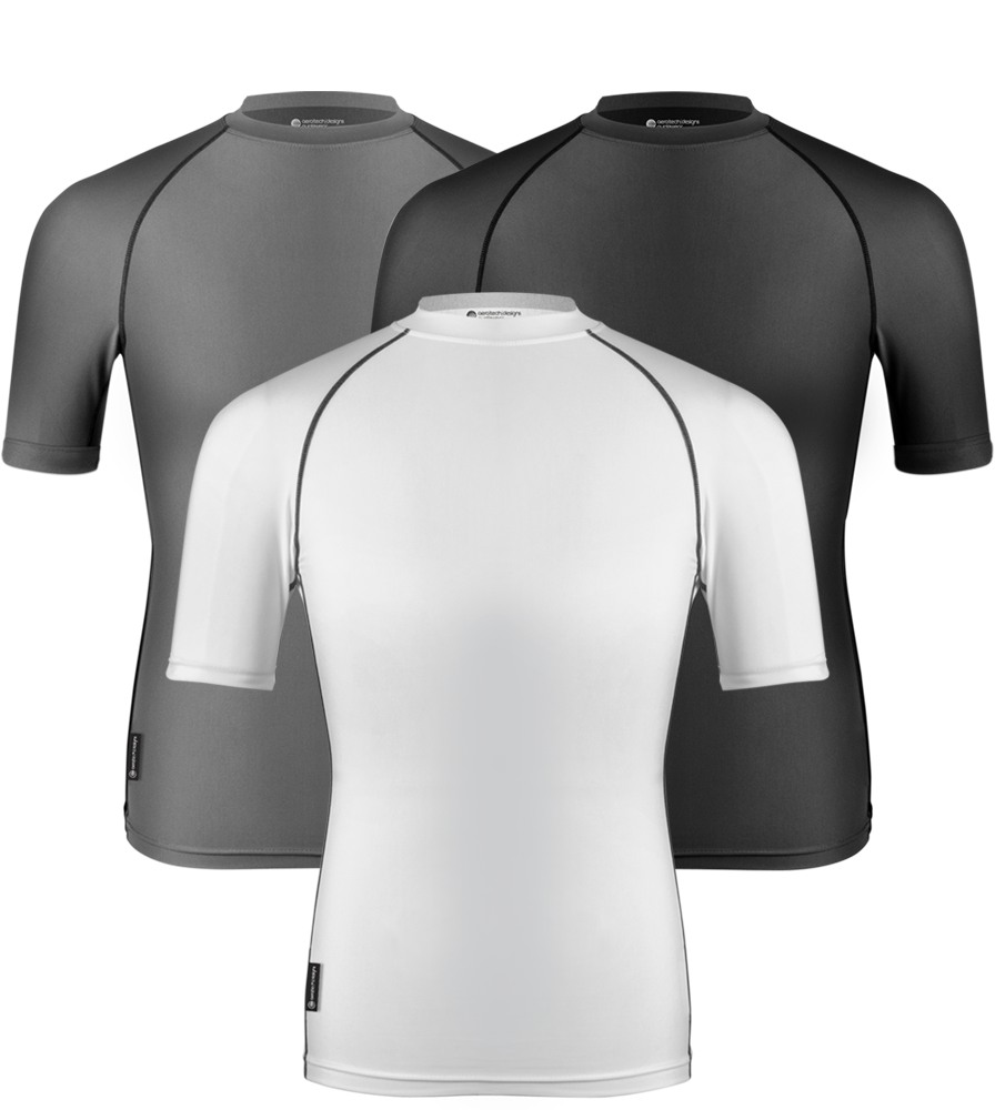 Aero Tech Designs Short Sleeve Compression Base Layer Shirt