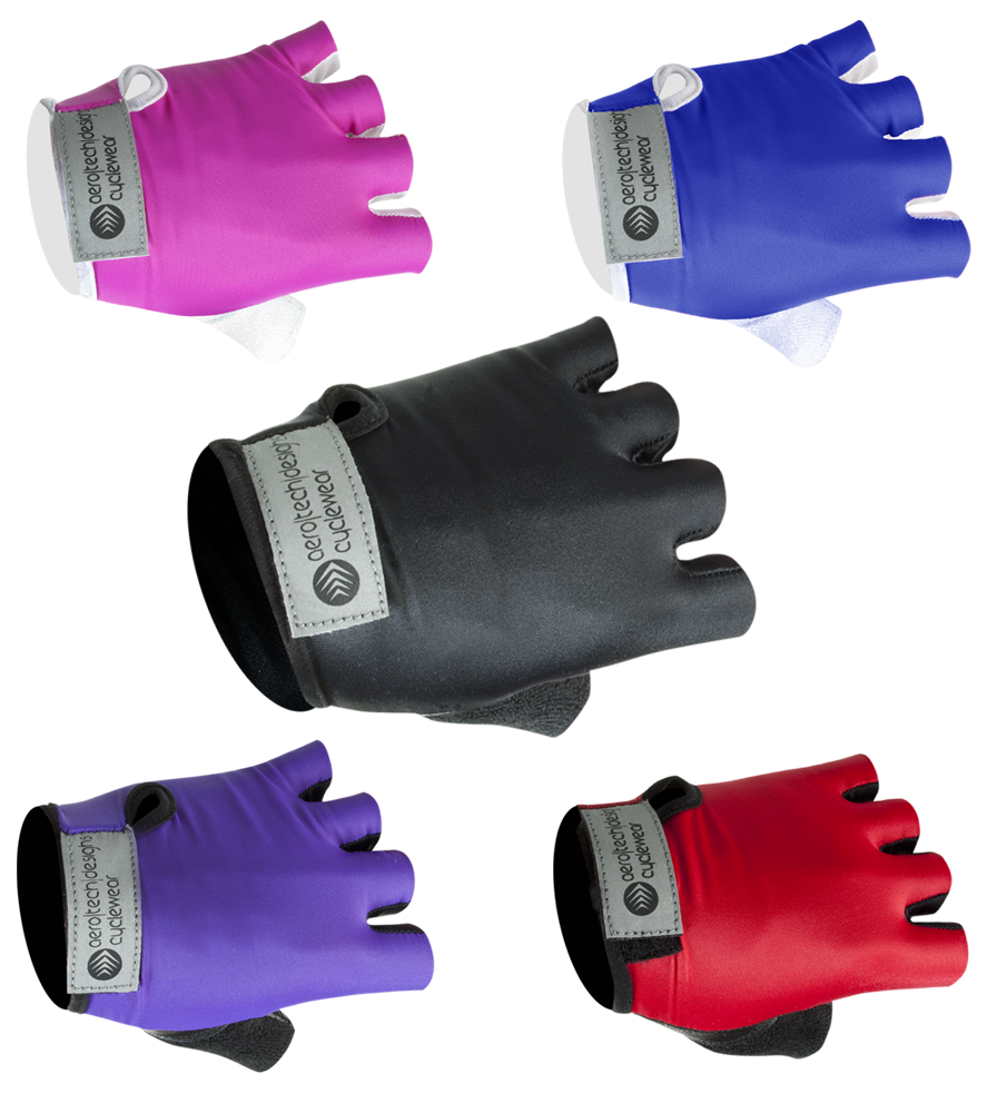 Aero Tech Children's Cycling Gloves - Youth Size Fingerless Padded Bike Glove Questions & Answers