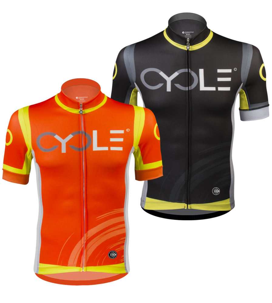 Aero Tech Men's Premiere Jersey - CYCLE - High Visibility, Racing Kit