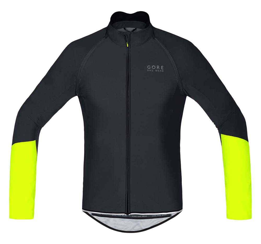 Gore Men's Power Windstopper Zip-Off Jersey - SMALL