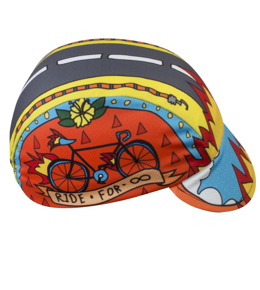 Aero Tech Rush Cycling Caps - Ride for Infinity - Made in USA