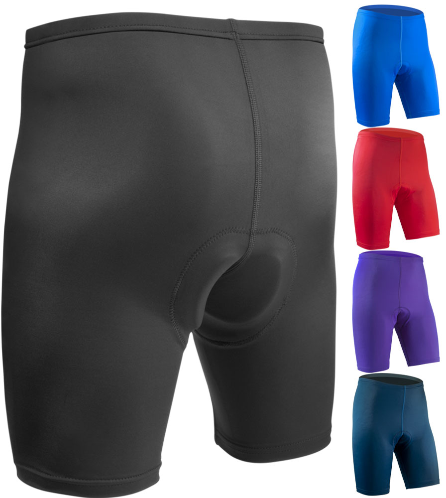 Aero Tech BIG Men's USA Classic PADDED Bike Shorts